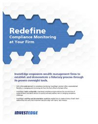 Make Compliance Monitoring Easy.