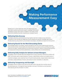 Make Performance Easy.